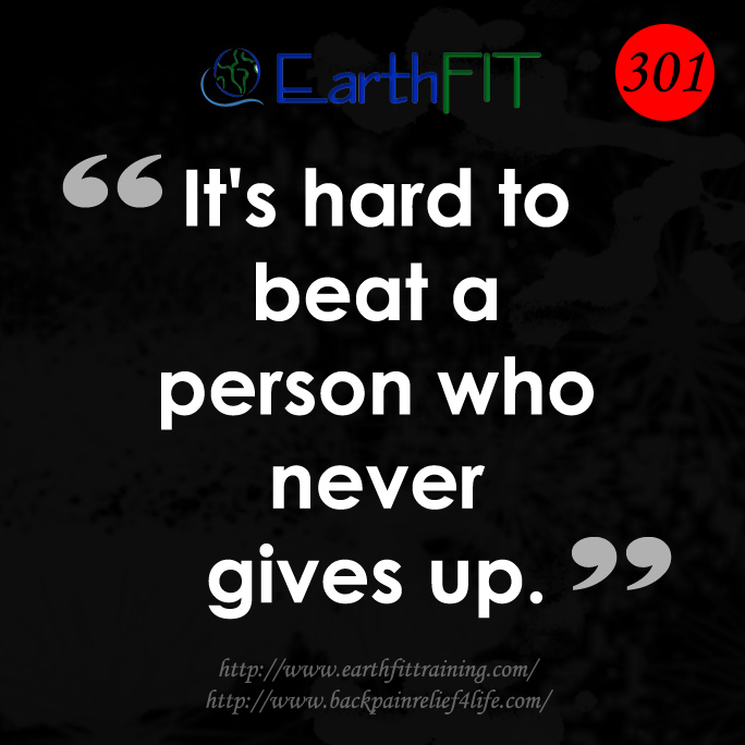 301 EarthFIT Quote of the Day
