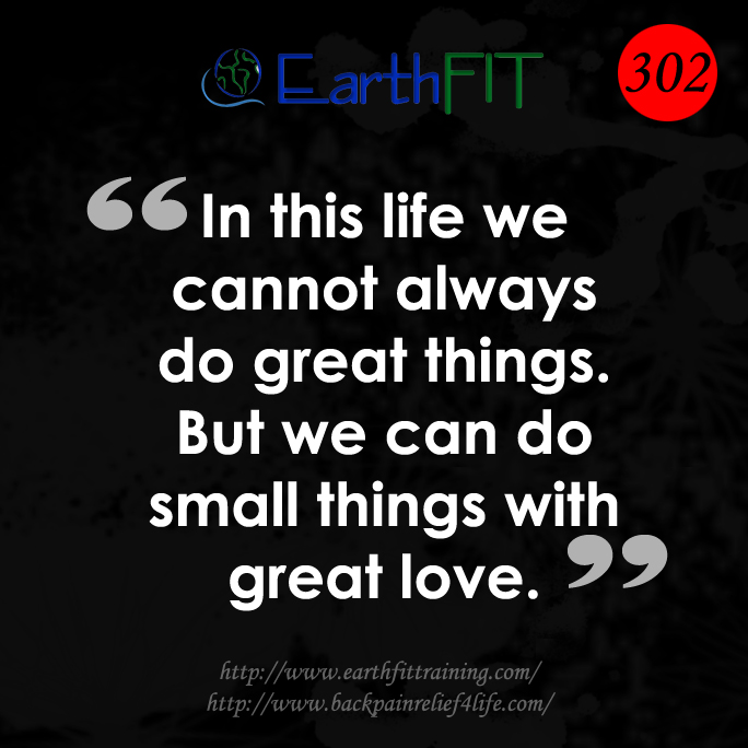 302 EarthFIT Quote of the Day